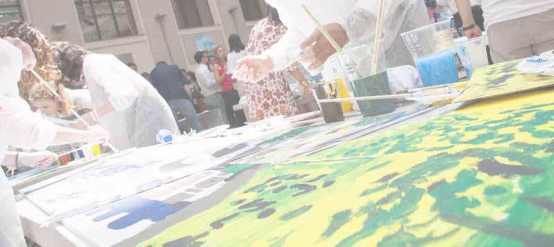 pintando el futuro actividad team building
