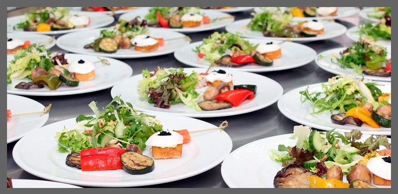 tipos de servicio de catering