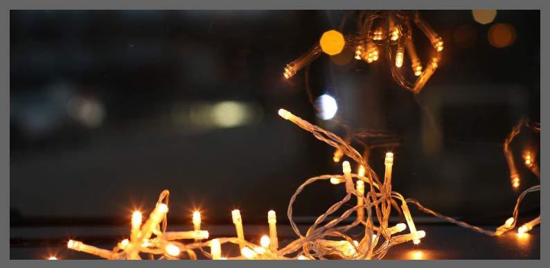 luces para cumpleaños